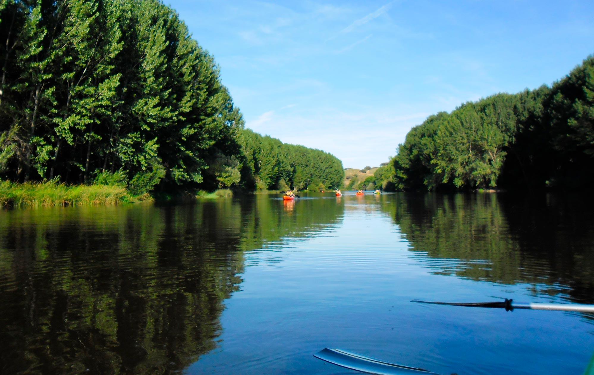 Ecodescenso por el río Alagón
